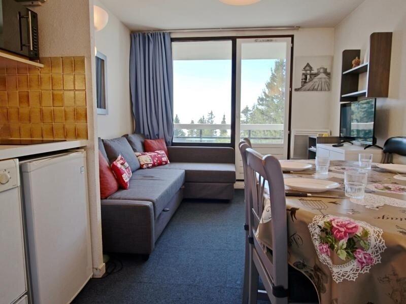 Appartement pour 6 personnes bien équipé, belle vue dégagée et proche des pistes, casa vacanza a Laffrey