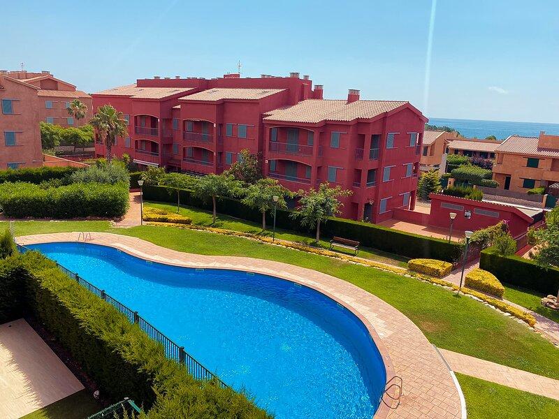 Amplio Duplex Con Vistas al Mar en Marina Sant Jordi (MSJ 53), location de vacances à Calafat