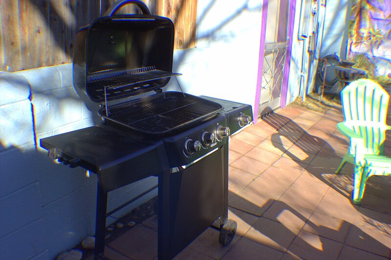 BBQ grill at Caribbe; similar one on Aquarius side for some major barbecue feasts!