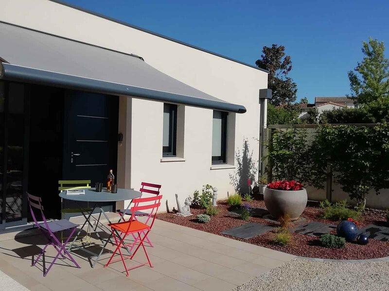 AU GRAIN D'ORGE, proche du Marais Poitevin, gîte classé 3 étoiles..., location de vacances à Prailles