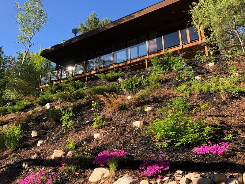 Chalet DesignPur Spa on the Lake, vakantiewoning in Sainte-Emelie-de-L'Energie