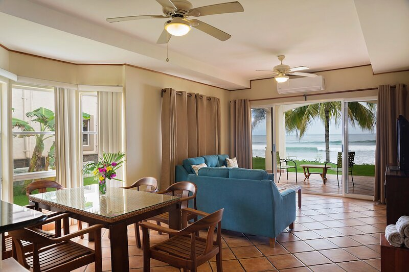 Villas Iguana A-14: Beachfront Condo!, vacation rental in Popoyo