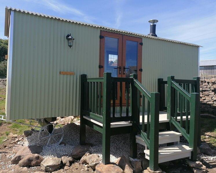 Lovely shepherds hut 'Weardale Retreat'