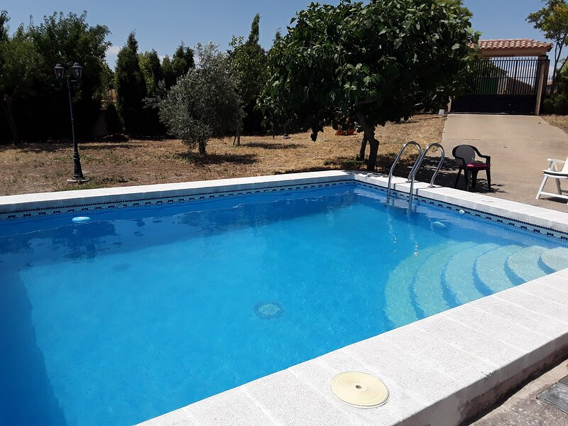 Big house with swimming-pool, Ferienwohnung in Ossa de Montiel
