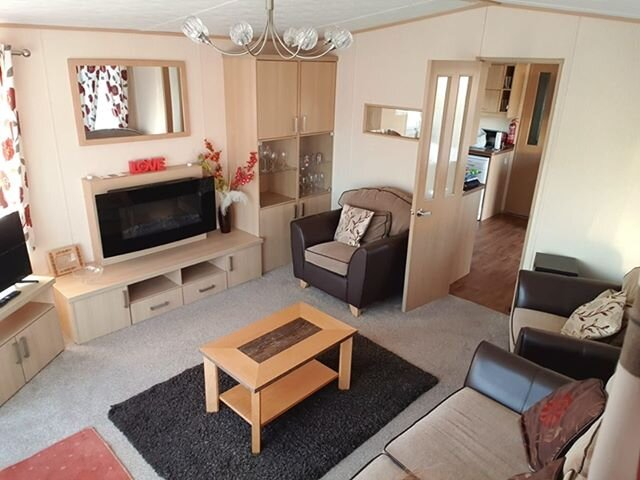 2 bed prestige with front decking holiday home Caister on Sea Pets welcome, location de vacances à Runham