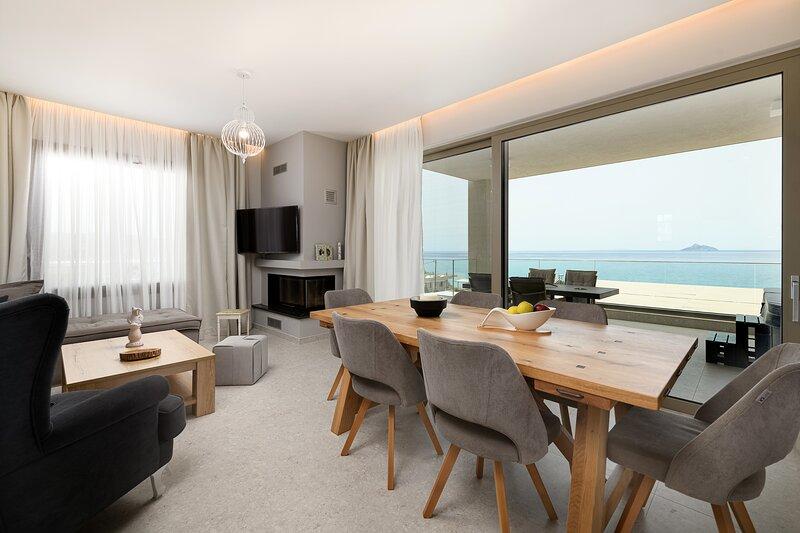 Diamond Dream 3 'View-Jacuzzi-Beach-Tranquility, location de vacances à Kalamaki