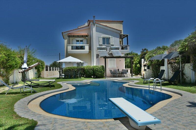 Ifigeneias luxury #Family jewel -2 #work from home, holiday rental in Kampani