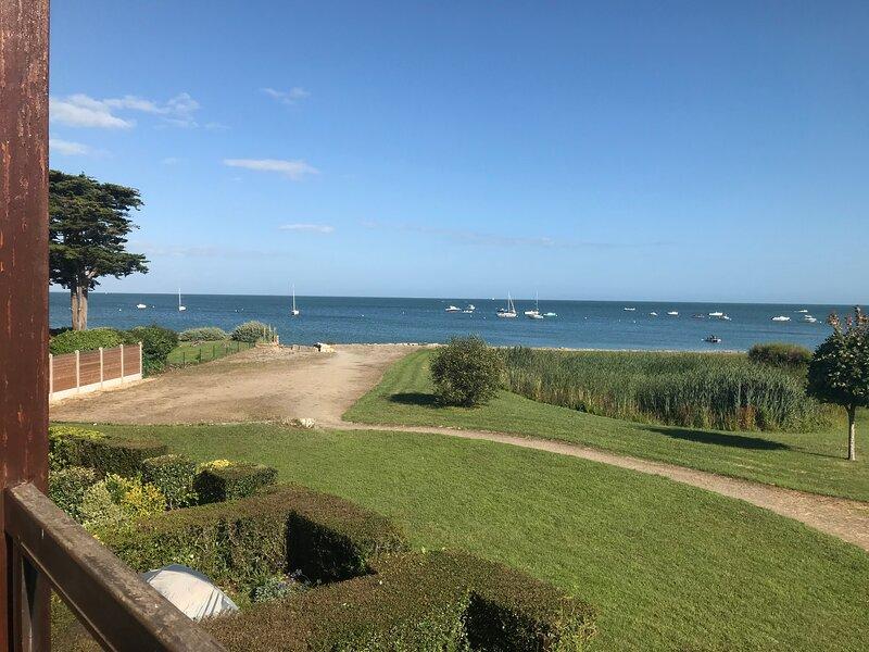 Appartement duplex de vacances vue mer 2 chambres 5 personnes, alquiler vacacional en Morbihan
