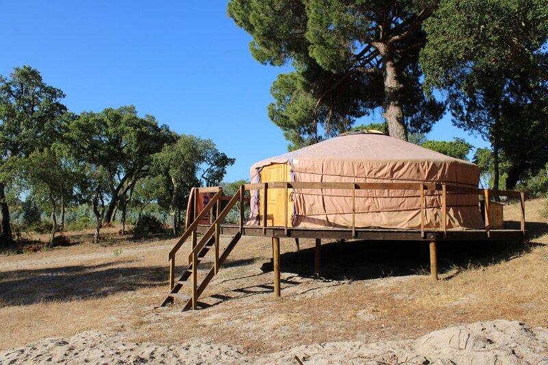 A Yurt in Alentejo, Portugal, location de vacances à Coruche