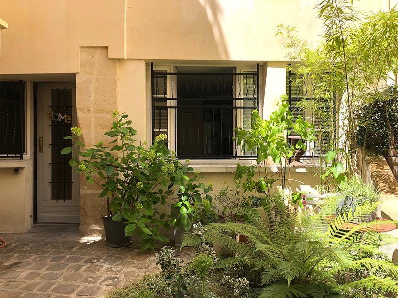 A charming and peaceful courtyard