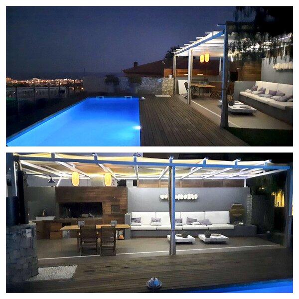 Vivienda con vistas al mar, chill-out y piscina, vacation rental in L'Arboc
