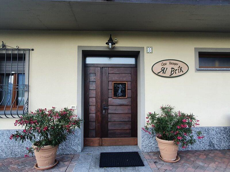 casa vacanze Al Brik Tirano, holiday rental in Monno