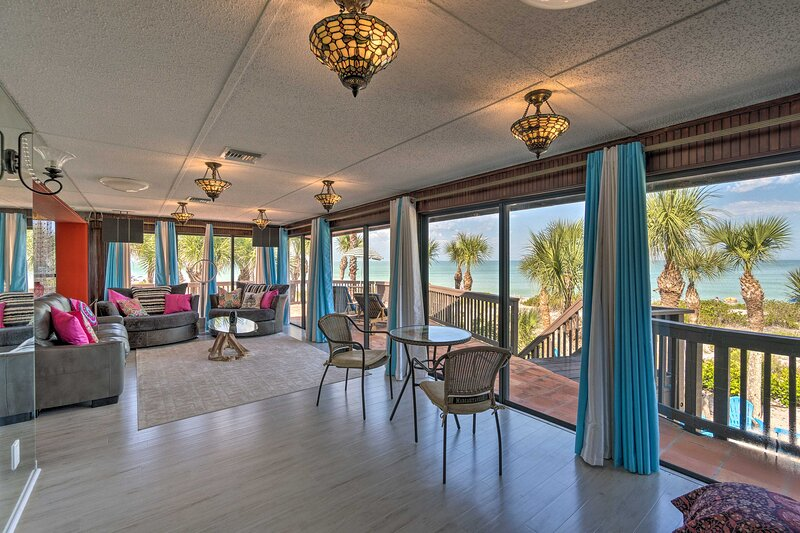 Experience luxury living at its finest when you stay at this beachfront getaway!