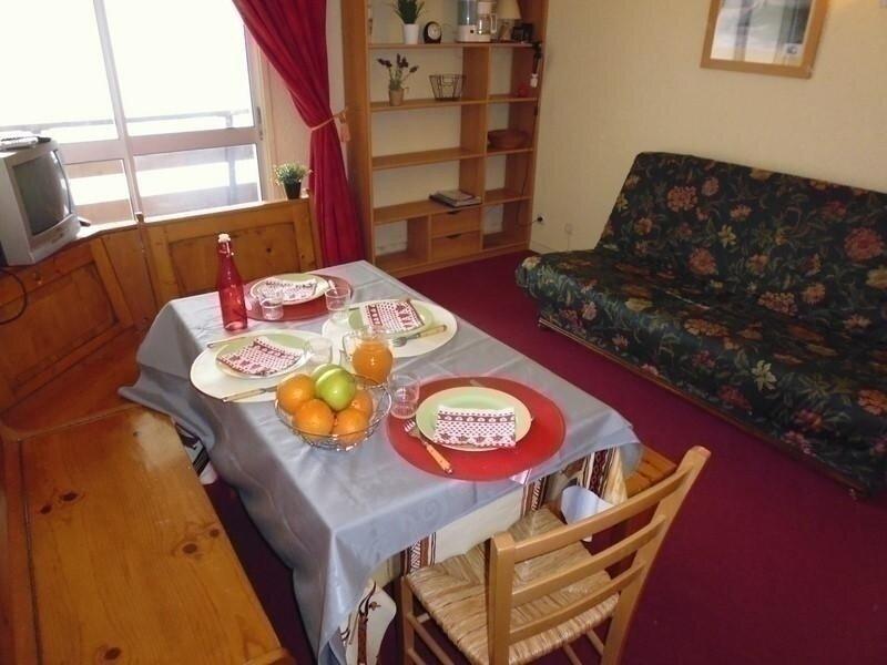 Studio cabine 4 pers-Parking couvert- Les Horizons, vacation rental in La Mongie