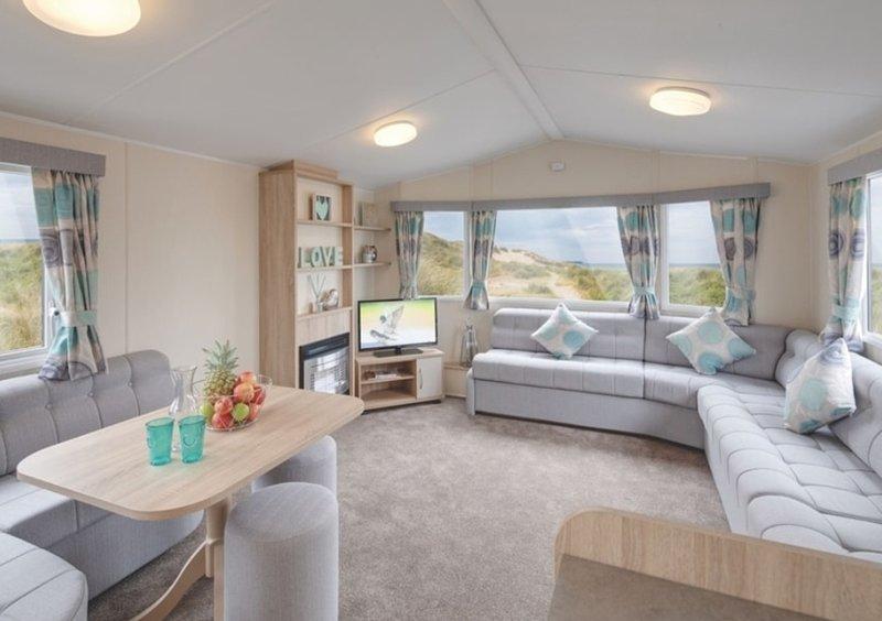 Stunning 6 Birth Caravan in Skegness, casa vacanza a Raithby