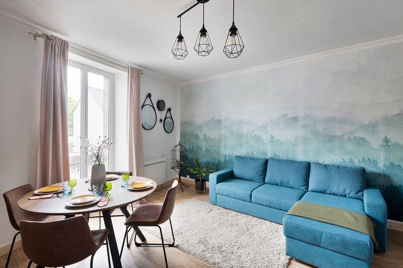 LE COTISSOIS - Appartement T2 avec jardin - Lanvallay proche Dinan, holiday rental in Lanvallay