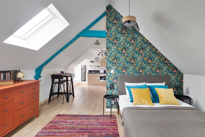 LA COTISSOISE - Studio avec jardin - Lanvallay proche Dinan, holiday rental in La Vicomte-sur-Rance