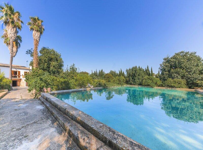 Historical Country  Villa Can Mir, piscina, wifi, barbacoa, aire acondicionado, vacation rental in Palma de Mallorca