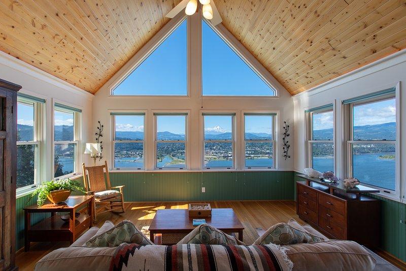 Million Dollar View, holiday rental in Bingen