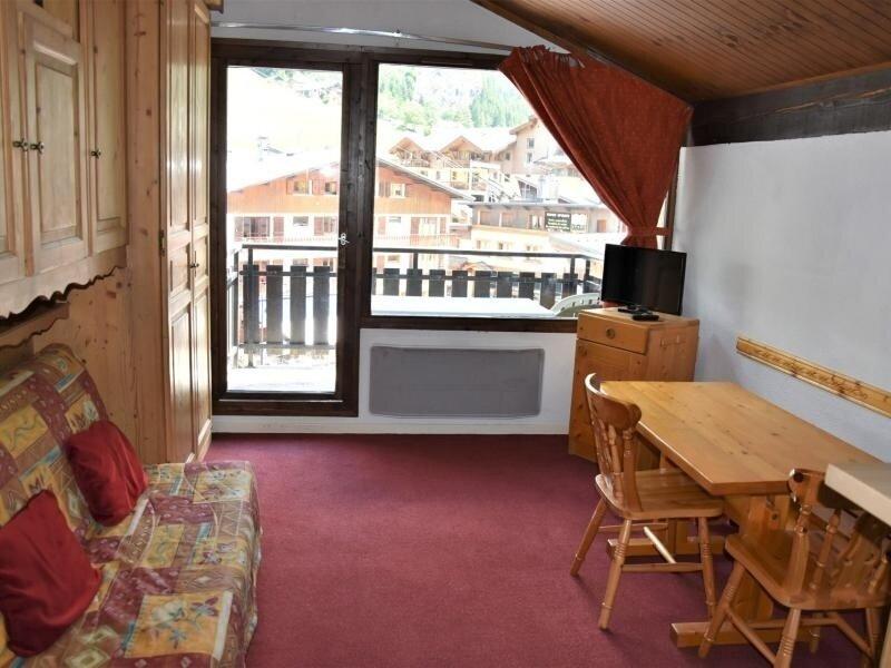 Studio plein centre, vue sur les pistes - Dernier étage, holiday rental in Pralognan-la-Vanoise