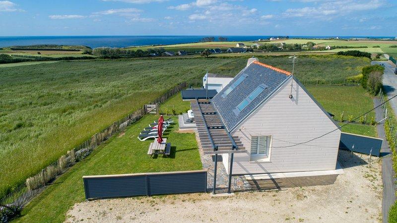 Gite Brest et alentours. A Plougonvelin, la maison des gardiens de l'océan    gite-brest.com