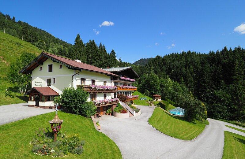 Apartment Sonnenblick, Annaberg im Lammertal, in der Schiregeion Dachstein-West, aluguéis de temporada em Abtenau
