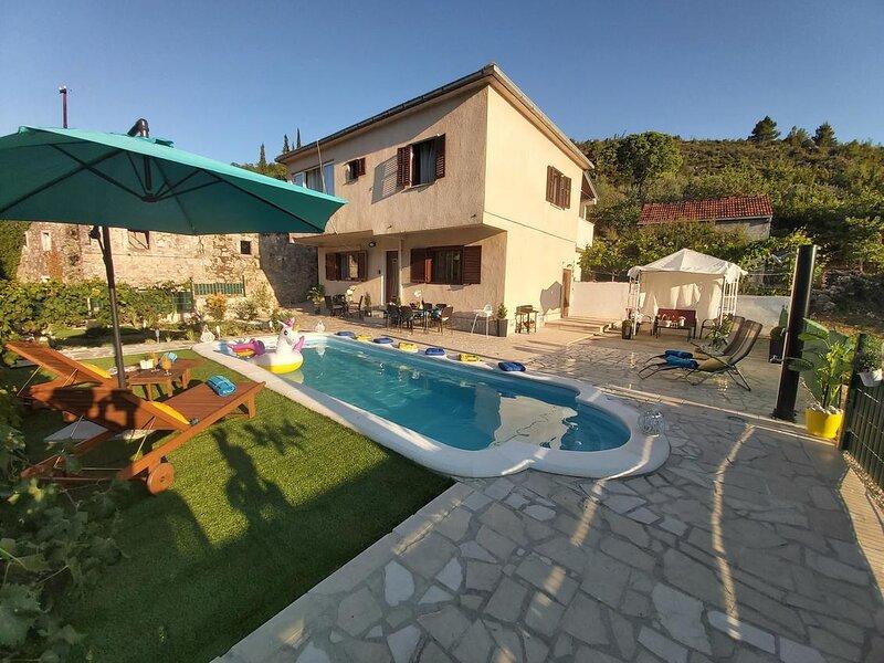 Three bedroom house Ošlje, Dubrovnik (K-18381), aluguéis de temporada em Mali Ston