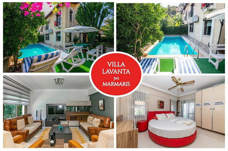 Villa Lavanta Marmaris Daily Weekly Rentals, holiday rental in Armutalan