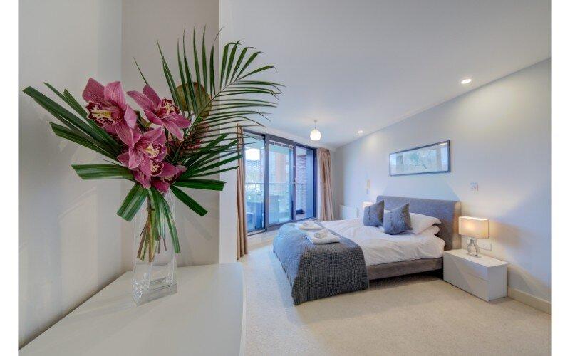 One Bedroom Deluxe Apartment, vakantiewoning in Bristol