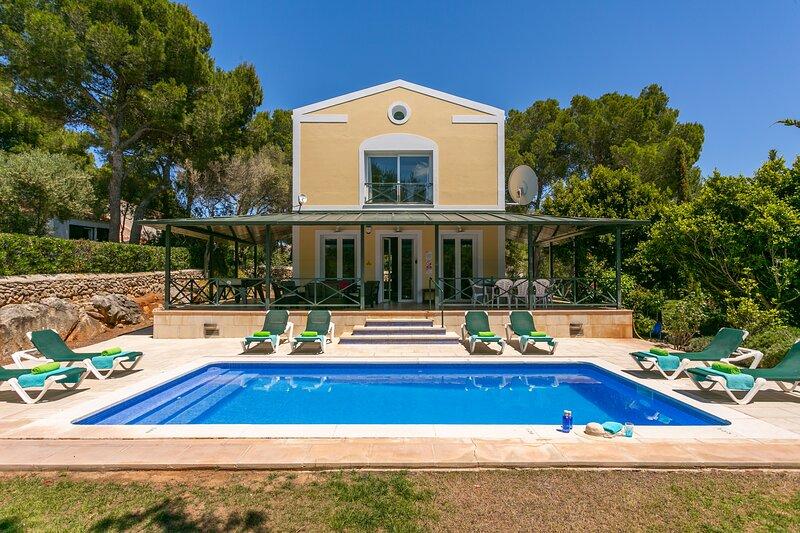 Villa Serafina, holiday rental in Fornells