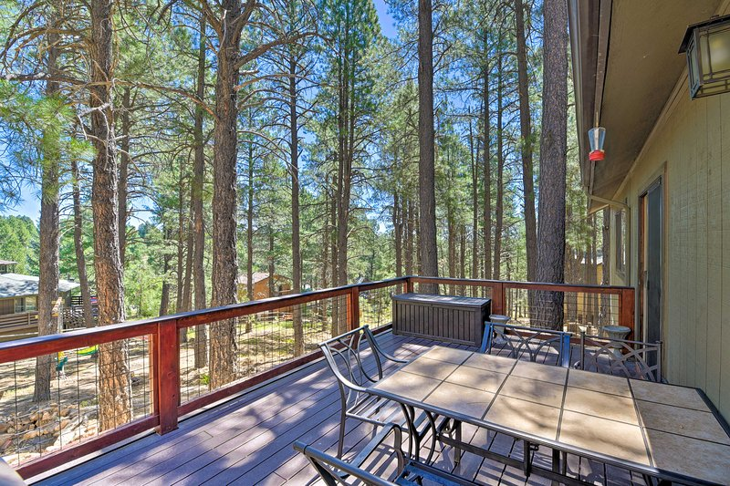 Flagstaff Vacation Rental Home | 3BR | 2BA | 1,368 Sq Ft | Steps Required