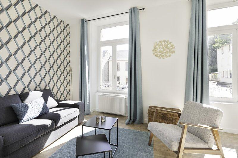 L'Ekrin des Bains N°2 - appartement rénové à La Bourboule, location de vacances à La Bourboule