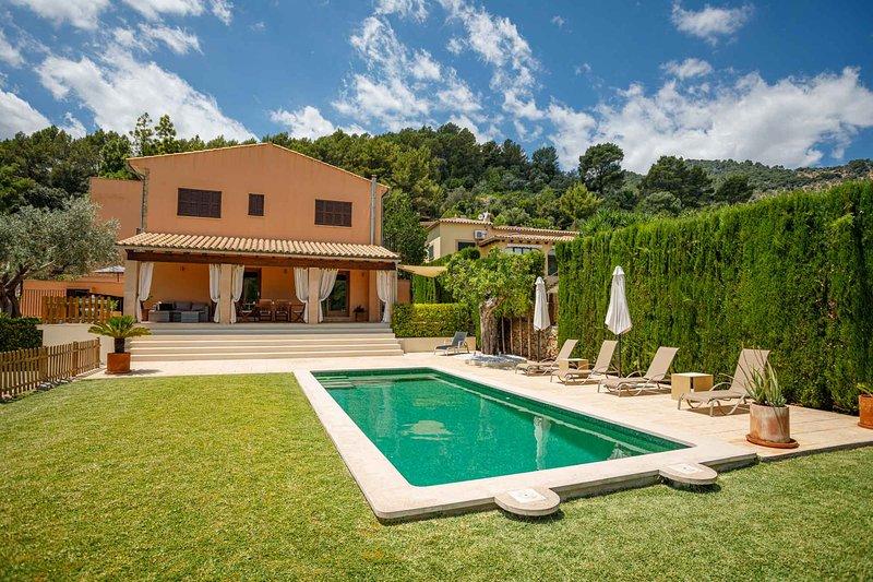 Sa tanca de sa nina · Villa in a unique area, views and private pool., aluguéis de temporada em Mancor de la Vall