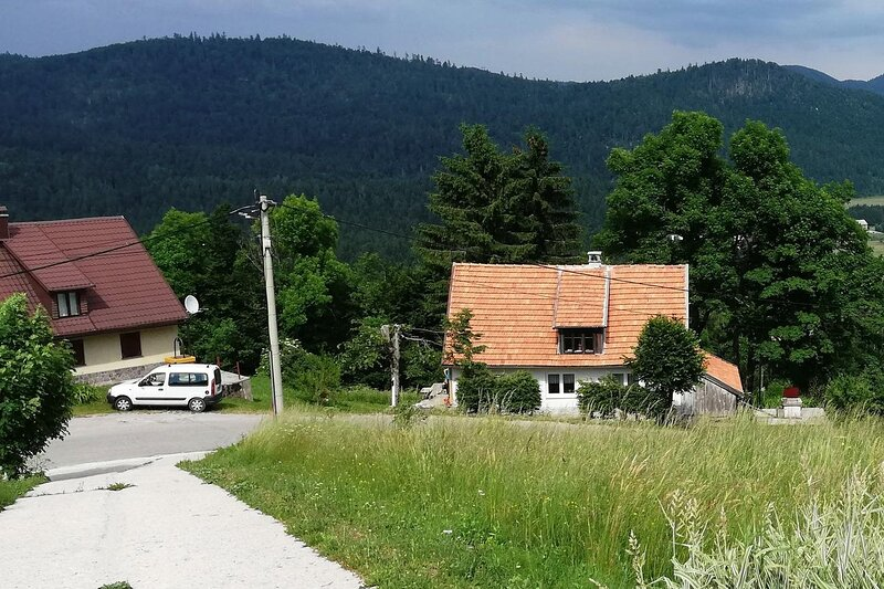 One bedroom house Brestova Draga, Gorski kotar (K-18374), holiday rental in Lokve