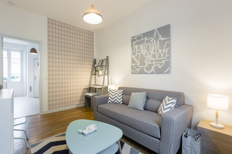 Arlequin, bel appartement hyper centre Rennes, vacation rental in Rennes
