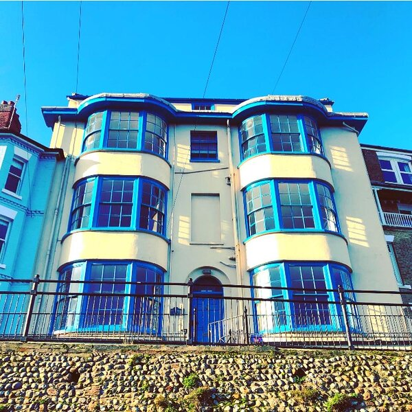 Flat 1 for rental is the ground floor and lower ground floor of Brunswick House