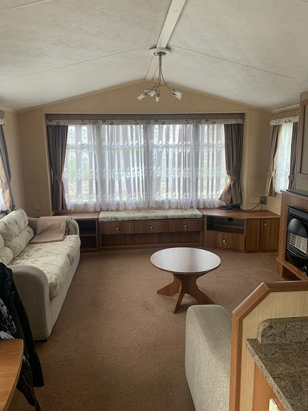 Static Caravan situated on quiet caravan park close  to Monreith beach, holiday rental in Isle of Whithorn