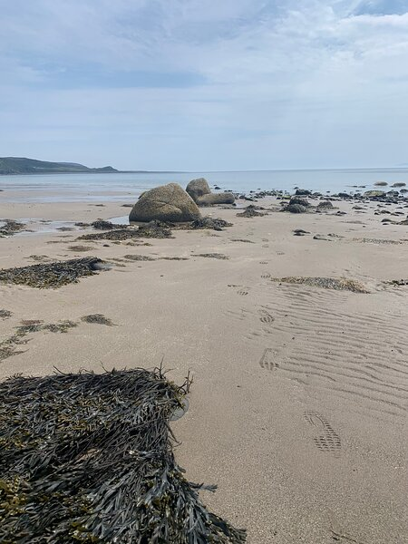 Caravan situated on quiet park close  to Monreith beach, holiday rental in Drummore