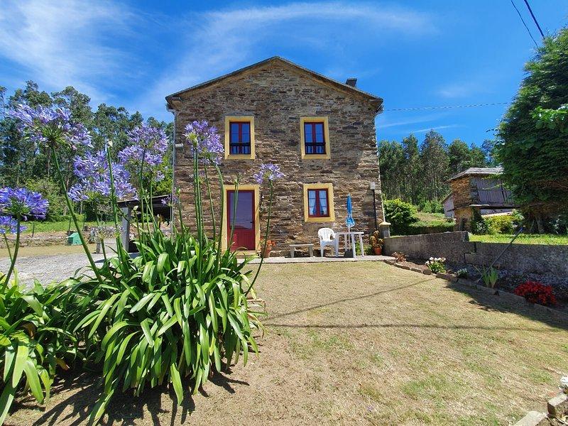 Casa de campo en Cedeira, vacation rental in Valdovino