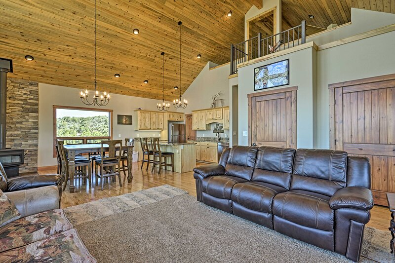 The property boasts brand new construction and an open-concept layout.