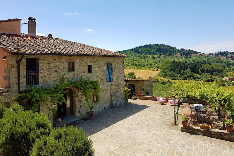 Fior di Fiesole, Casa incantevole nelle colline di Firenze, casa vacanza a Fiesole