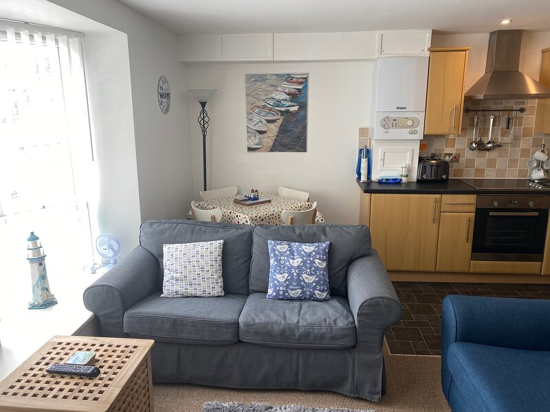 Jethro's Retreat. Carbis Bay, Cornwall, holiday rental in St Ives