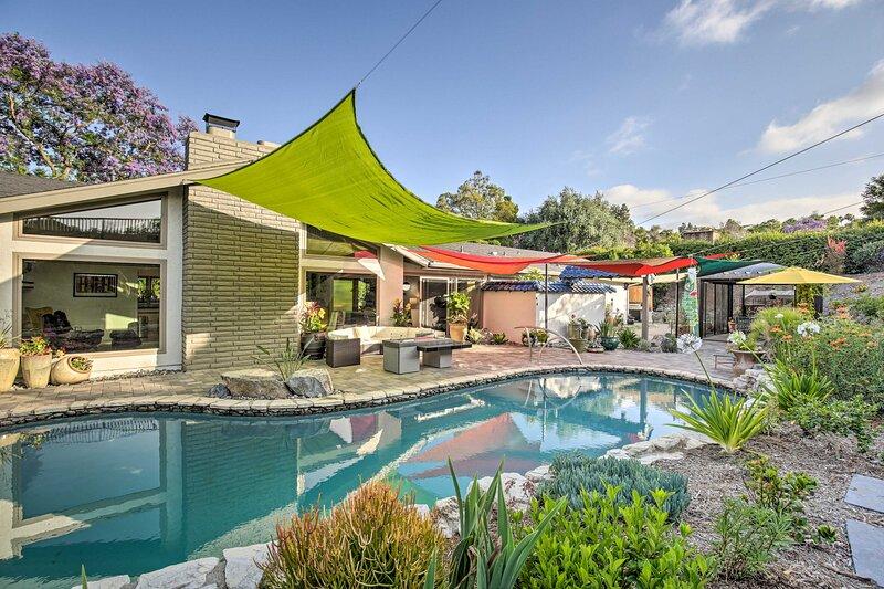 Luxury El Cajon Oasis w/ Pool, Fire Pit & Pavilion, location de vacances à Spring Valley