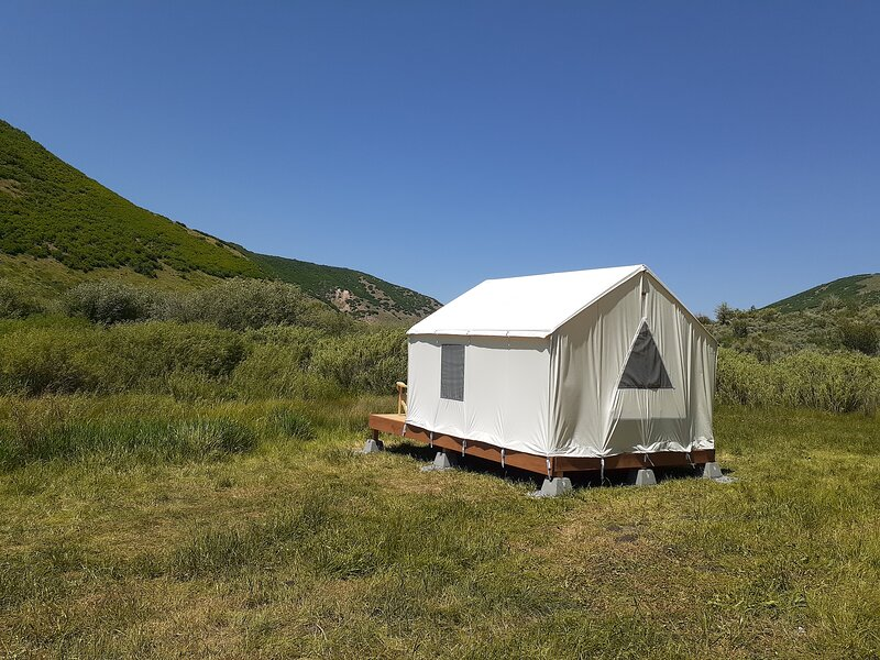 Tentrr State Park Site - East Canyon State Park: Big Rock Double Site G, casa vacanza a Coalville