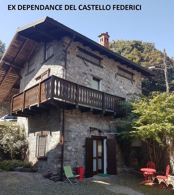 Villetta singola ex dependance del Castello Federici, cortile ad uso esclusivo degli ospiti