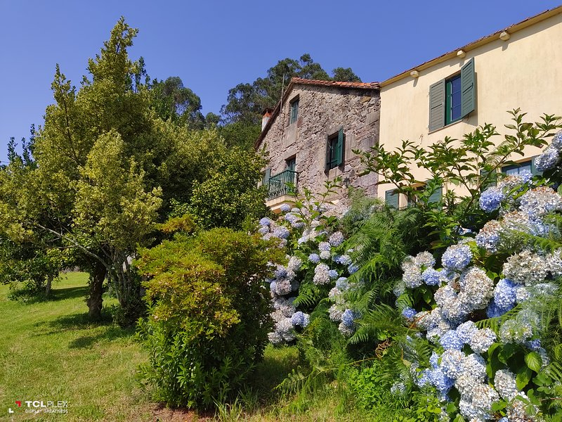 O Lughar Dabaixo Fogar Natural, holiday rental in Sierra de Outes