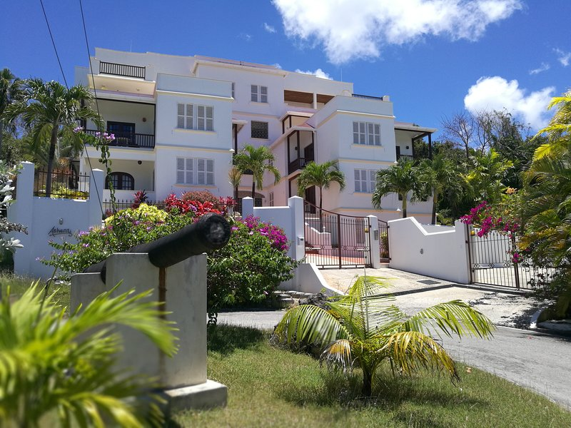 Ashanti Complex - Sea View Apartment (No.3), holiday rental in Gibbes