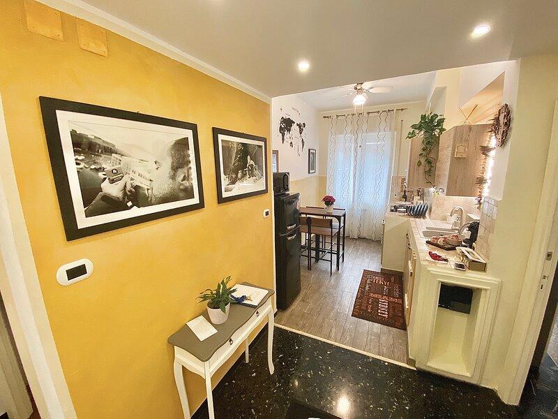 Appartamento San Martino, casa vacanza a Valbrevenna