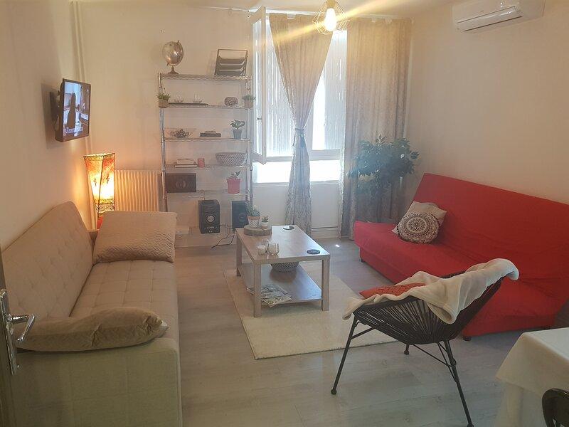 Appartement  Spacieux* Parking* Balcon* Wifi* Climatisation* Linge de maison, location de vacances à Caveirac