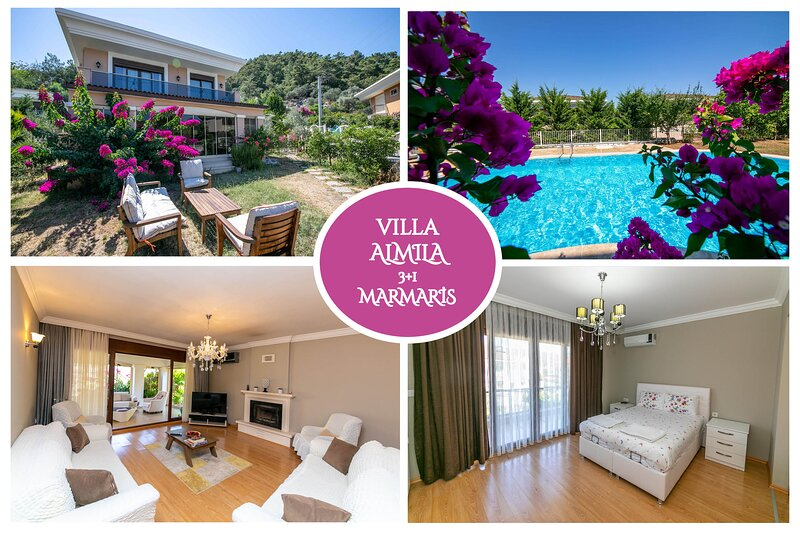 Villa Almila Marmaris Daily Weekly Rentals, holiday rental in Marmaris